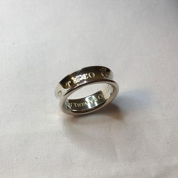 f5083e780 Tiffany & Co. Jewelry   Tiffany Co 1837 Ring Size Us 8   Poshmark